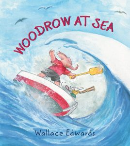 Woodrow at Sea by Wallace Edwards